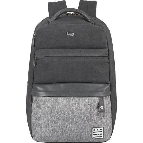Solo Urban Collection Code Laptop Backpack Gray/Black UBN740-4