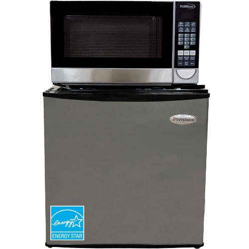 Image of 1.6 CuFt Compact Refrigerator With 0.7 CuFt Countertop Microwave