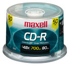 Maxell - 50 Pack CDR Spindle