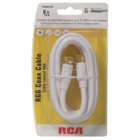 RCA - 6' RG6 Coaxial Cable