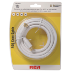 RCA - 12' RG6 Coaxial Cable