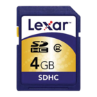 Lexar - 4GB Secure Digital High Capacity Card