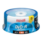 Maxell - Pack of 25 DVD-R Media