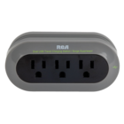 RCA - Travel Charging Station / Surge Protector with Cradle