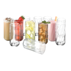 Luminarc - 16 Oz Drinking Glass Cooler Set Of 12