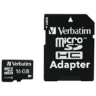 Verbatim - 16GB microSDHC Flash Memory Card