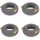 Night Owl - 100' Ft BNC Video Camera Extension Cable - 4 Pack