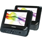 Sylvania - 7 Dual Wide Screen Portable DVD Player