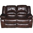 Era Nouveau - Amalfi Dual Reclining And Power Reclining Leather Loveseat