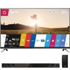 LG - 60 Class Smart 3D 1080P LED HDTV With Wi-Fi And Home Theater Soundbar System