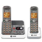 AT&T - DECT 6.0 2 Handset Cordless Phone With Digital Answering Machine