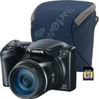 Canon - 16.0 MP PowerShot Digital Camera With Small Camera Pouch And 8GB SDHC Card