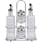 Ragalta - 5 Piece Glass Condiment Set