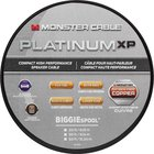 Monster - Platinum XP Clear Jacket MKIII 50' Compact Speaker Cable