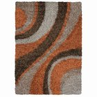 Rizzy - Kempton Collection Shag 5'x7' Multi-Color Area Rug