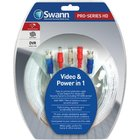 Swann - 100' Ft Professional HD Video/Power BNC Cable With Adapter