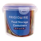 Frigidaire - Round Locking Lid Container 6.1x6.1x5.3