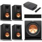 Klipsch - HD Wireless 5.1 System With Book Shelf Speakers