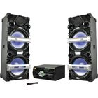 BriteLite - Dual 15 4000 Watt Bluetooth Entertainment System With LED Lights