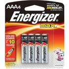 Energizer - 4-Pack AAA Batteries