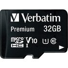 32GB Premium microSDHC Memory Card With Adapter