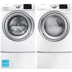 4.5 CuFt Front Load Washer With 7.5 CuFt Front Load Electric Dryer