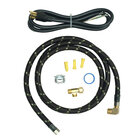 Whirlpool - 6' Braided Dishwasher Install Kit