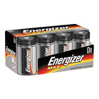 Energizer - D 8 Pack Alkaline Batteries