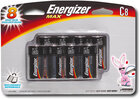 Energizer - C 8-Pack Alkaline Batteries