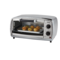 Oster - 4 Slice Brushed Stainless Steel Toaster Oven