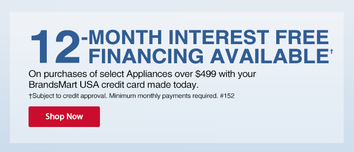 24-Month Promotional Financing Available On Select Whirlpool, Maytag and KitchenAid Appliances